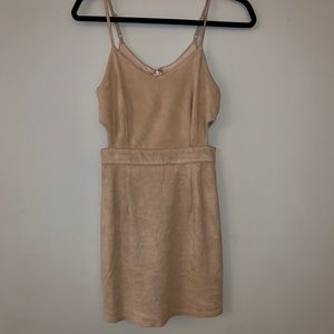 Forever 21 S Faux Suede Mini Dress